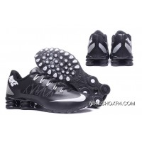 NIKE SHOX 808 Black White Super Deals