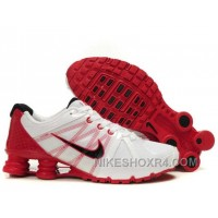 Nike Shox Agent Mens White Red 5sY6w