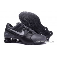 NIKE Shox Avenue 803 PU Charcoal Grey Black 2018 New Discount