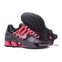 NIKE Shox Avenue Black Pink Women 2018 New Top Deals