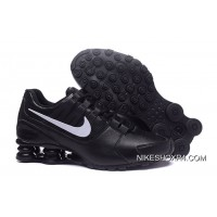NIKE Shox Avenue 803 PU All Balck Men Lastest