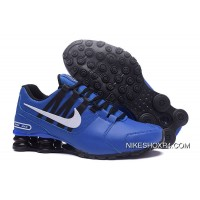 NIKE Shox Avenue 803 PU Blue Men Best