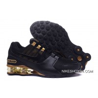 Nike SHOX Avenue 802 Black And Gold Cheap To Buy