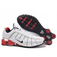 Nike Shox NZ III Third Mens White Red Az6Zh