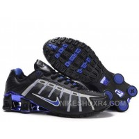 Nike Shox NZ III Third Womens Black Blue 8W8aw