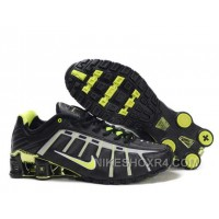 Nike Shox NZ III Third Womens Black Green Ta4sw