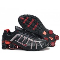 Nike Shox NZ III Third Womens Black Red JGQFT