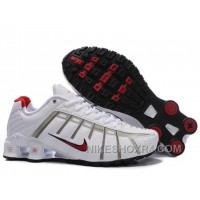 Nike Shox NZ O'Leven Womens White Red