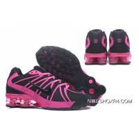 NIKE SHOX OZ 801 Black Rosie Pink For Women Lastest