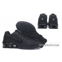 NIKE SHOX OZ 801 13 All Black Online