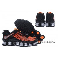 Nike Shox TLX 0016 Black Orange Free Shipping