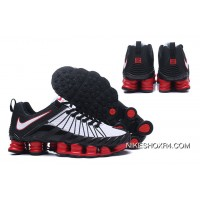 Nike Shox TLX 0016 White Red Black Super Deals
