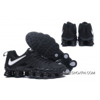 Nike Shox TLX 0016 All Black New Year Deals
