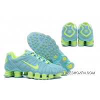 Nike Shox TLX 0018 Women Mint Green Free Shipping