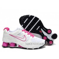 Nike Shox Turbo 12 Womens Mesh White Red