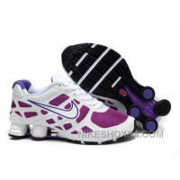 Nike Shox Turbo 12 Womens Mesh White Purple