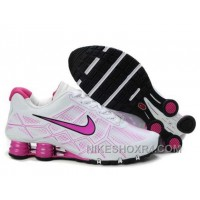 Nike Shox Turbo 12 Womens Leather White Black