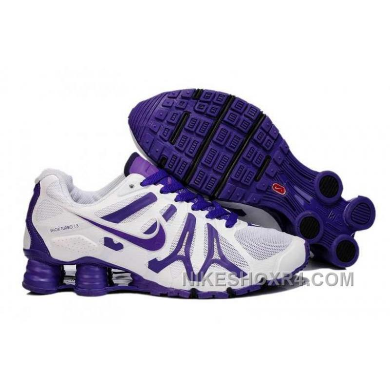 Nike Shox Turbo+13 Womens White Purple ...