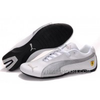 Mens Puma Future Cat GT Ferrari Grey White Discount