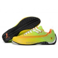 Womens Puma Future Cat 825 Yellow Green Black For Sale