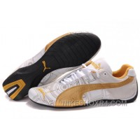 Women's Puma Future Cat Carve Golden/White Authentic