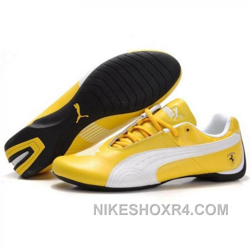 USD  81.00  218.70. Puma Future Cat GT Ferrari Classic Shoes In Yellow Xmas  Deals ... 79ecacd3b
