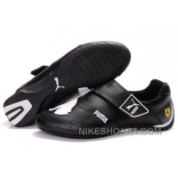 Mens Puma Baylee Future Cat Shoes Black White Top