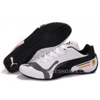 Mens Puma White Black Baylee Future Cat Shoes Free Shipping