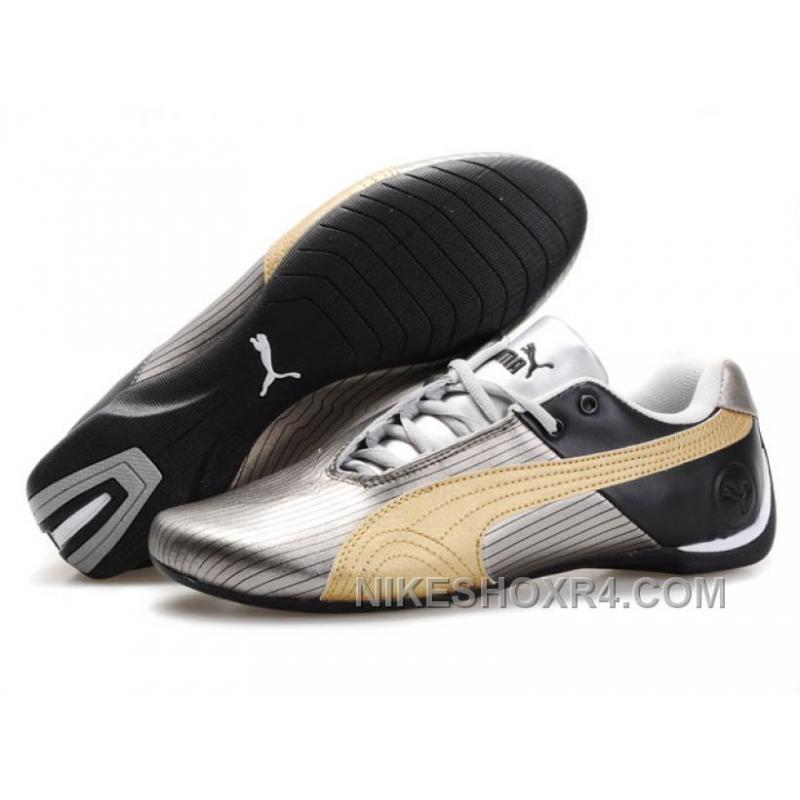 0c2ec42a79d Puma Future Cat Remix NT Shoes SilverBlackGold Super Deals