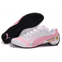 Puma Baylee Future Cat Shoes White Pink Womens Authentic