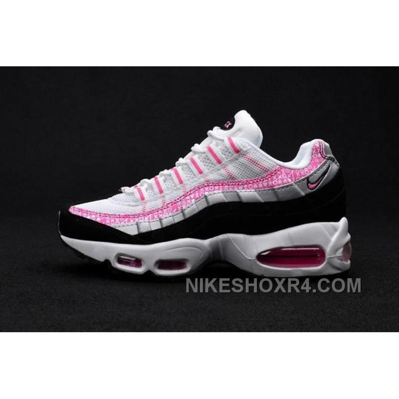 competitive price 46670 ba4e3 USD  73.00  182.50. Womens NK Air Max 95 Em Running White Pink Black ...