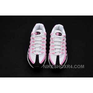 finest selection 86172 38c11 ... Womens NK Air Max 95 Em Running White Pink Black For Sale PcNNa ...