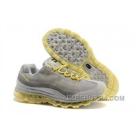 Promo Code For 2014 New Online New Air Max 95 360 Womens Shoes Wire Drawing Grey Yellow Top 8GPYE