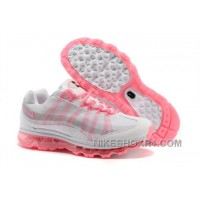 Discount Code For 2014 New Online New Air Max 95 360 Womens Shoes Wire Drawing White Pink Lastest S3XRW