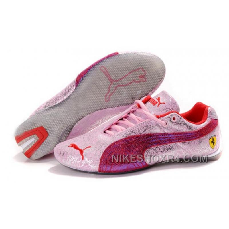 123df7c6da89 Women s Puma Ferrari In Pink Gray Authentic P4J2T