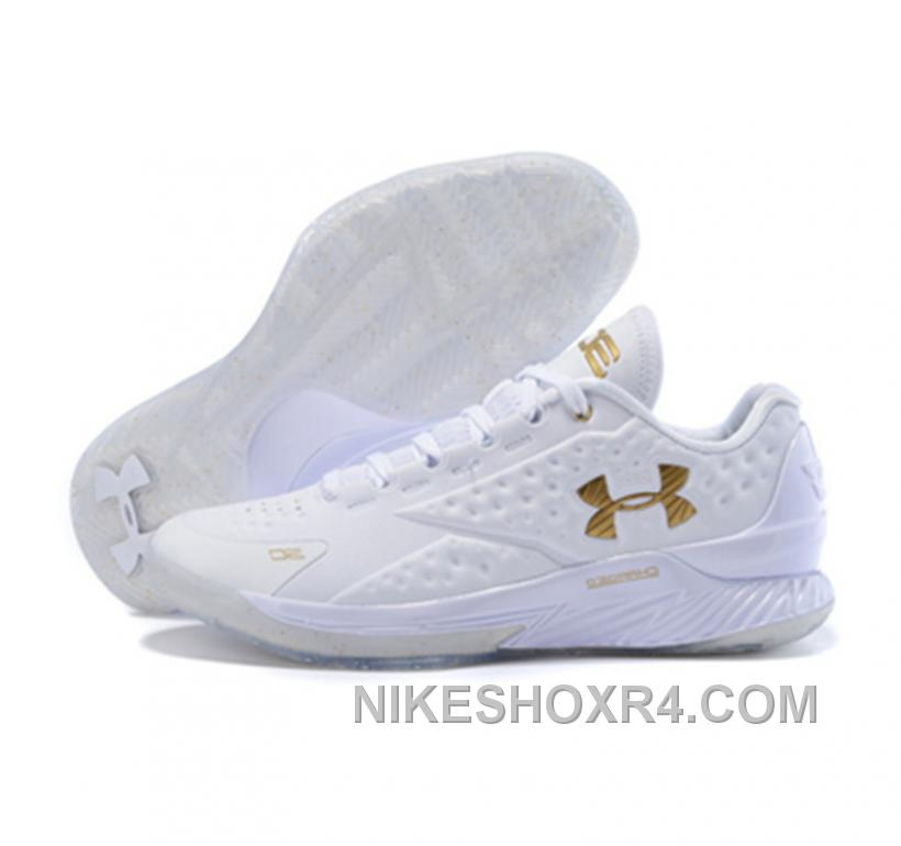 Under Armour ClutchFit Drive Low Stephen Curry Shoes Gold ...