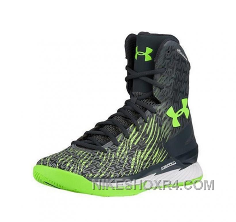 Under Armour Stephen Curry Height Shoes Blue Green New ...