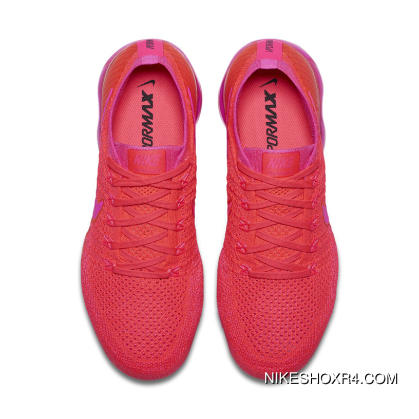 192ef676fdd Nike WMNS AIR VAPORMAX FLYKNIT The HYPER PUNCH SKU 849557 604 Red Roses New  Release