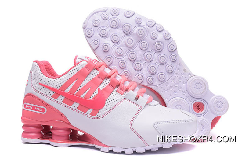 more photos bd73f 871d1 NIKE Shox Avenue White Pink Women 2018 New Online