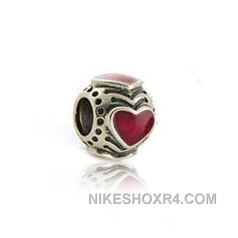Pandora Red Hearts Charm Free Shipping