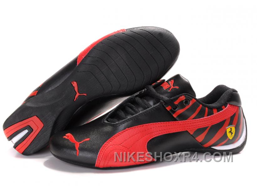 d4a6374f94366d Men s Puma Future Cat In Black Red Free Shipping