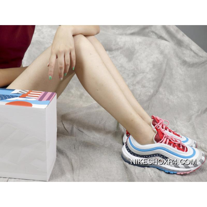f739822232e2c Nike Air Max 97 Retro Piet Parra X Zoom All-match Jogging Shoes AJ3057-100  Abstract ...