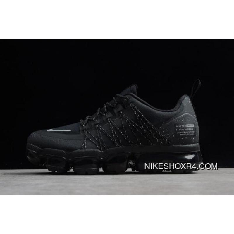 e504daa6908b4 Nike Air VaporMax Run Utility Black White-Dark Grey AQ8810-001 Free ...