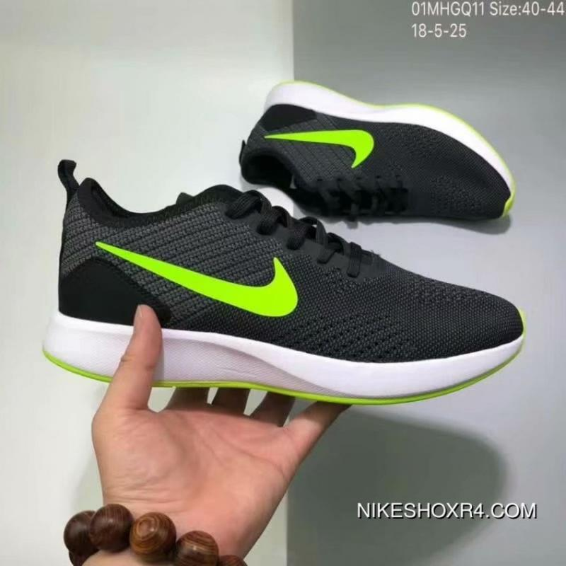 c028dc1d3043d USD  89.64  286.86. 110 Nike DUALTONE RACER FLYKNIT Woven Casual Breathable Running  Shoes ...