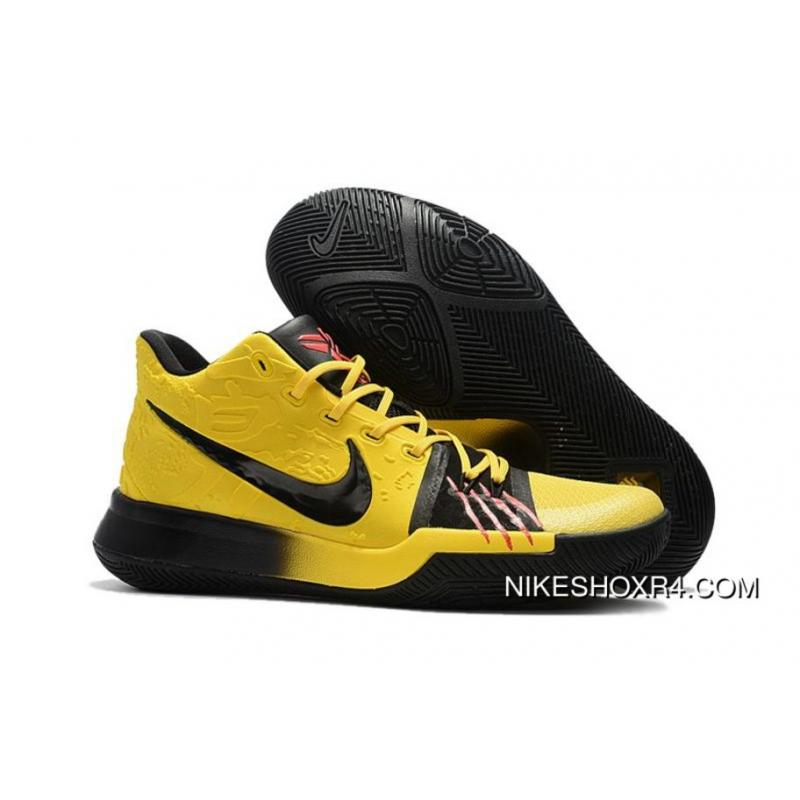 205db3cb69c USD  95.29  307.47. 2017 Nike Kyrie 3 Bruce Lee Tour Yellow Black New Year  Deals ...