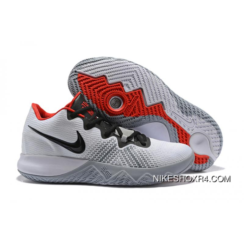 d3e469990712 ... Nike Kyrie Flytrap White Black-University Red Men s Shoes New Release  ...