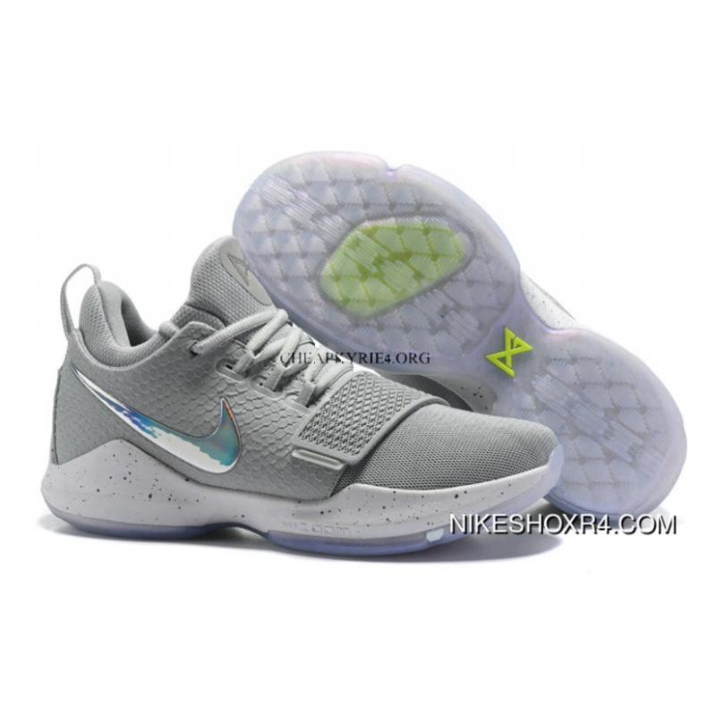 6c88ac81c45c58 Nike Zoom Pg 1 Shoes Nike Zoom Pg 1 Grey Colorful Basketball Shoes ...