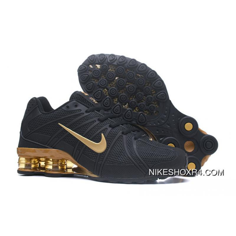 newest 99172 296f7 USD  88.25  308.88. Nike Shox Current March 2018 New Men Black Gold ...