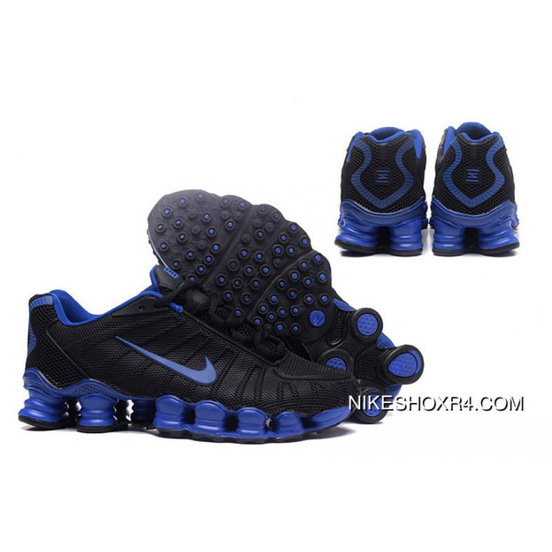 check out e0276 a9639 USD  88.30  220.74. Nike Shox TLX 0018 Men Black And Blue ...