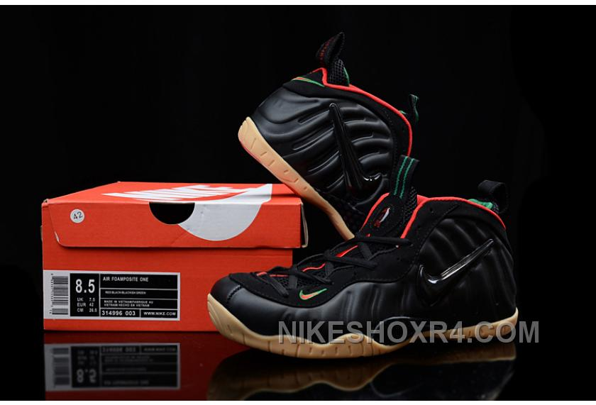 """2017 Nike Air Foamposite Pro """"Guci"""" Black Gym Red-Metallic Gold For ... 003089c6c"""